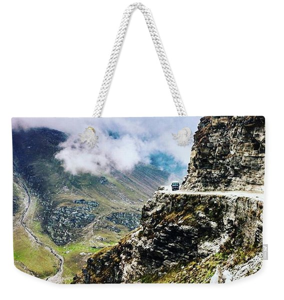 Himalayan Roads Are Good For Your Weekender Tote Bag