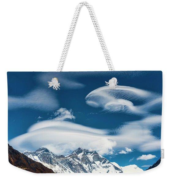 Himalayan Sky Weekender Tote Bag