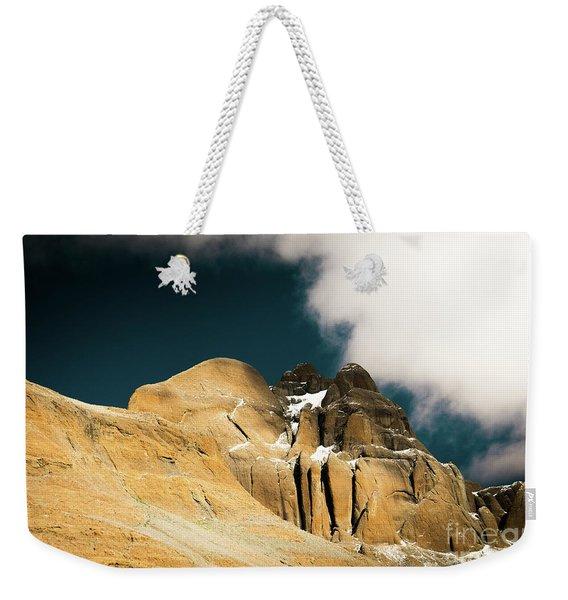 Himalayas Mountain Kailas Kora Tibet Yantra.lv Weekender Tote Bag