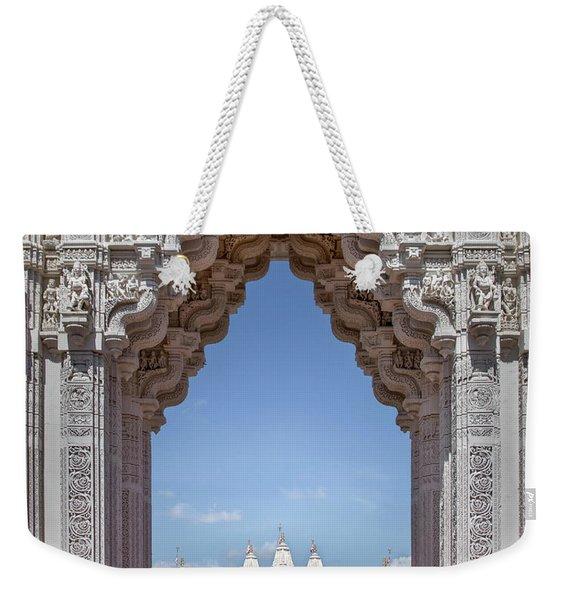 Hindu Architecture Weekender Tote Bag