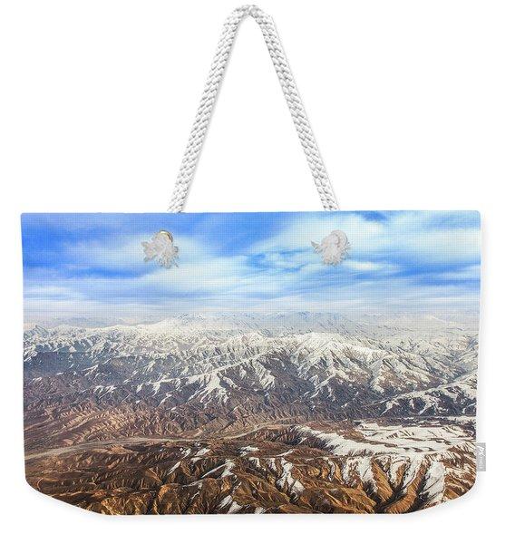 Hindu Kush Snowy Peaks Weekender Tote Bag
