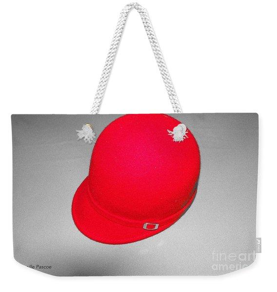 Hints Of Red - Hat Weekender Tote Bag
