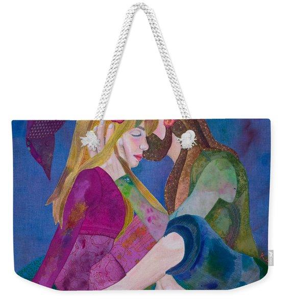 Hippie Love Weekender Tote Bag