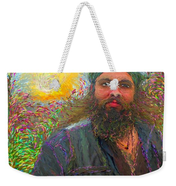 Hippie Mike Weekender Tote Bag
