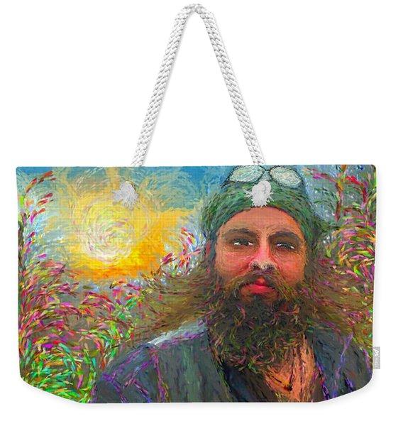 Hippie Mike Weekender Tote Bag