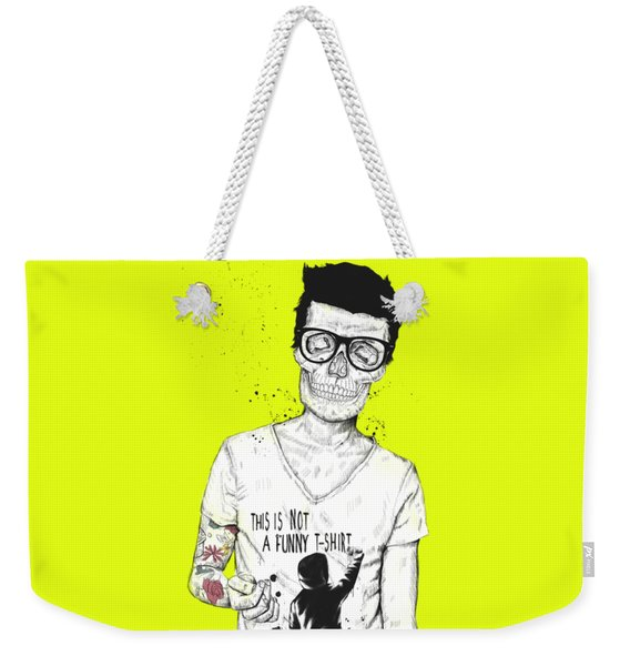 Hipsters Not Dead Weekender Tote Bag