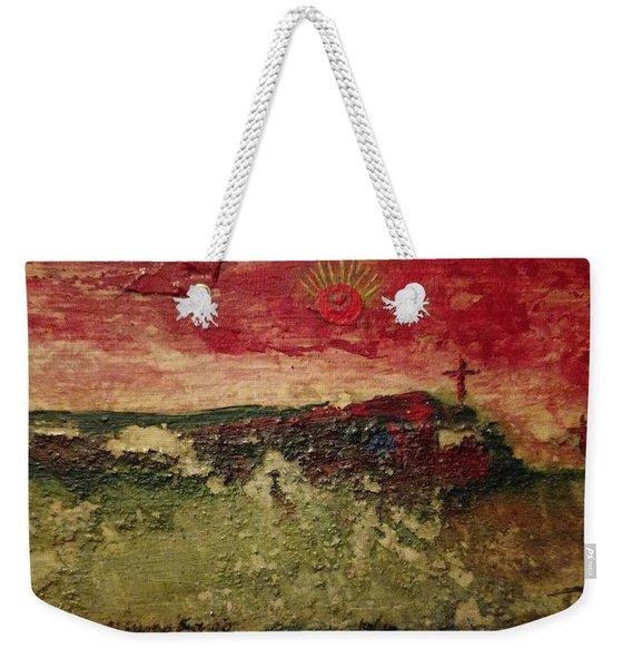 His Crucifiction Weekender Tote Bag