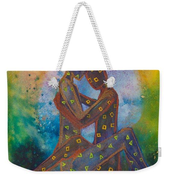 His Loves Embrace Divine Love Series No. 1007 Weekender Tote Bag
