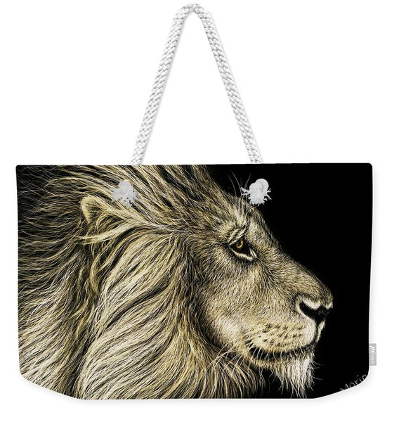 His Majesty Weekender Tote Bag