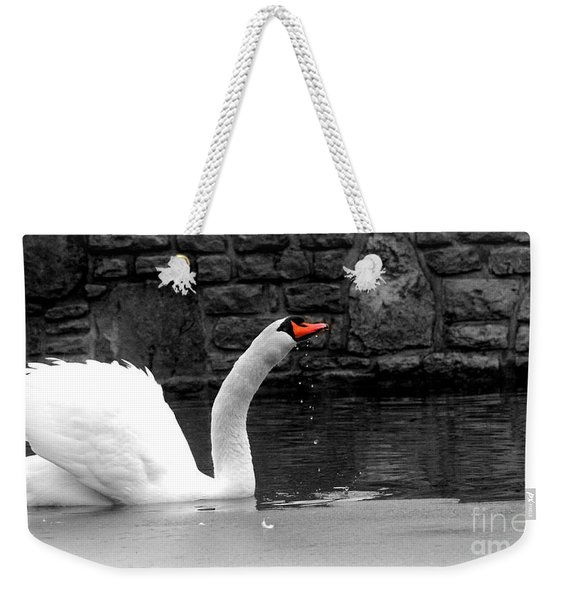His Majesty On Ice Weekender Tote Bag
