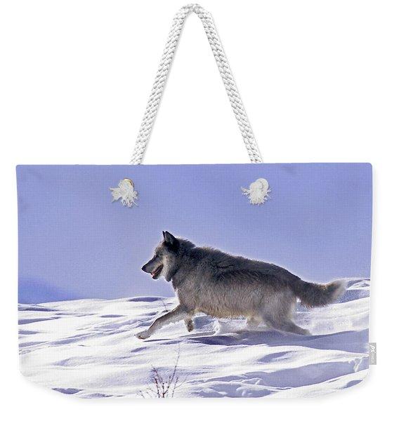 His Majesty Wolf 21m Weekender Tote Bag