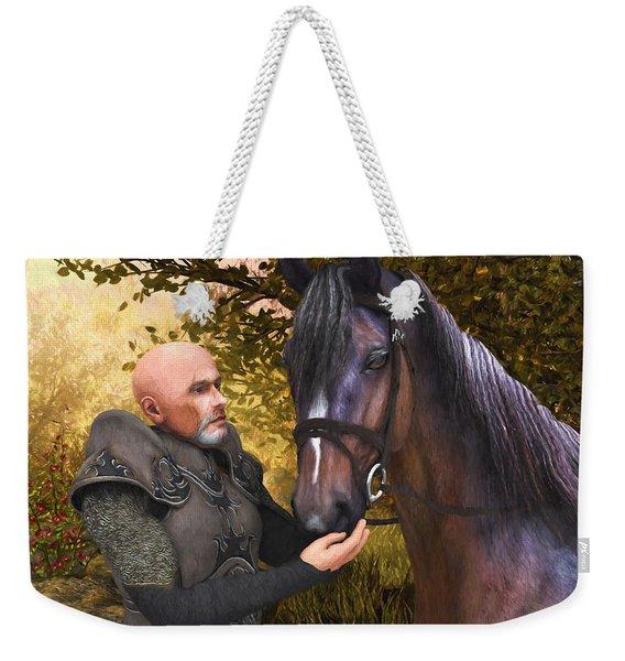 His Noble Steed Weekender Tote Bag