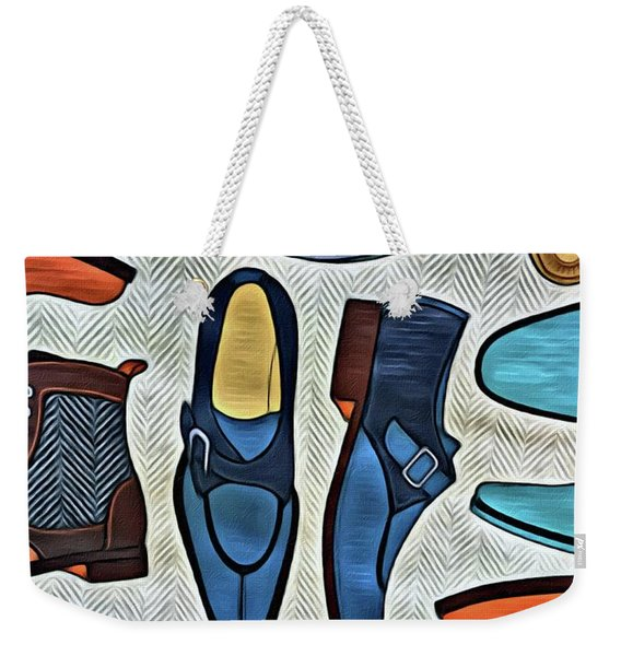His Shoes Weekender Tote Bag