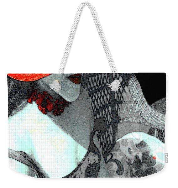 Abstract Woman Art 1 Weekender Tote Bag