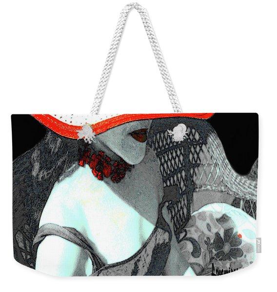 Abstract Woman Art 4 Weekender Tote Bag