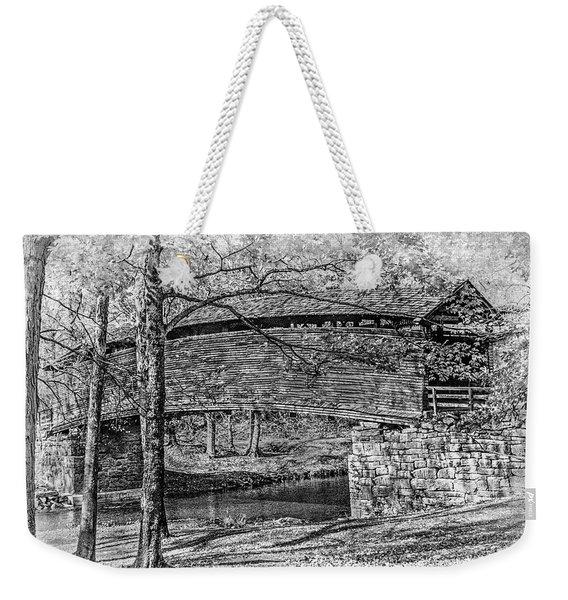 Historic Bridge Weekender Tote Bag