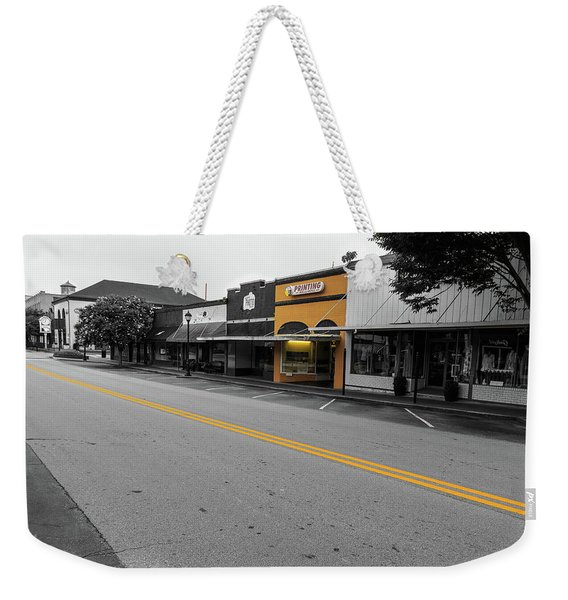 Historic Buford In Selective Color Weekender Tote Bag