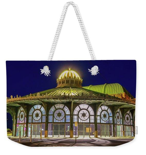 Historic Carousel Building, Asbury Park Nj Weekender Tote Bag