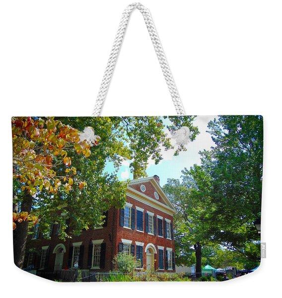 Historic Dahlonega Georgia Courthouse Weekender Tote Bag