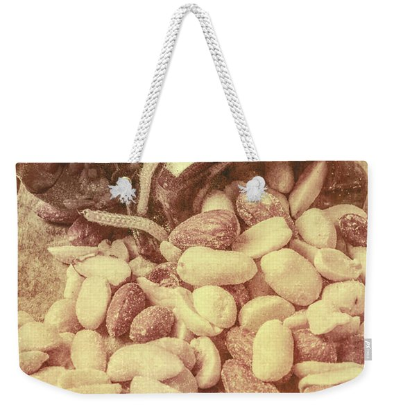 Historic Food Art Weekender Tote Bag