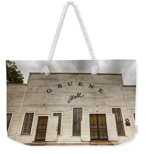 Historic Gruene Hall Weekender Tote Bag