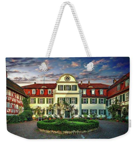 Historic Jestadt Castle Weekender Tote Bag