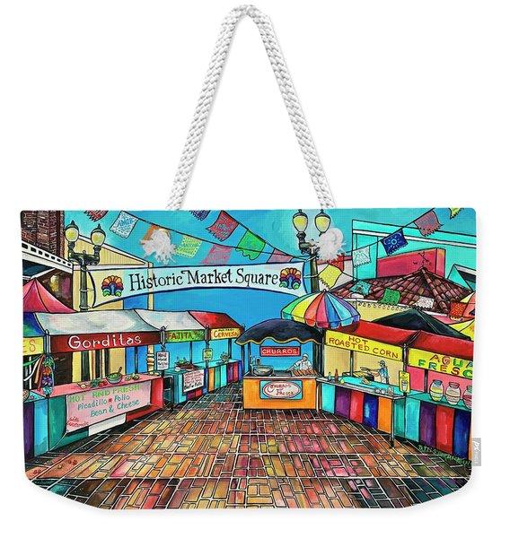 Historic Market Square Weekender Tote Bag