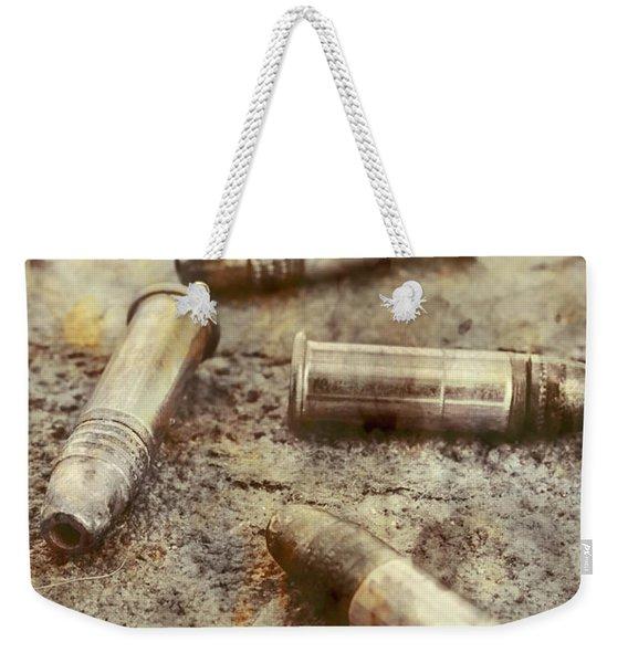 Historic Military Still Weekender Tote Bag