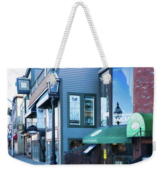 Historic Newport Buildings Weekender Tote Bag