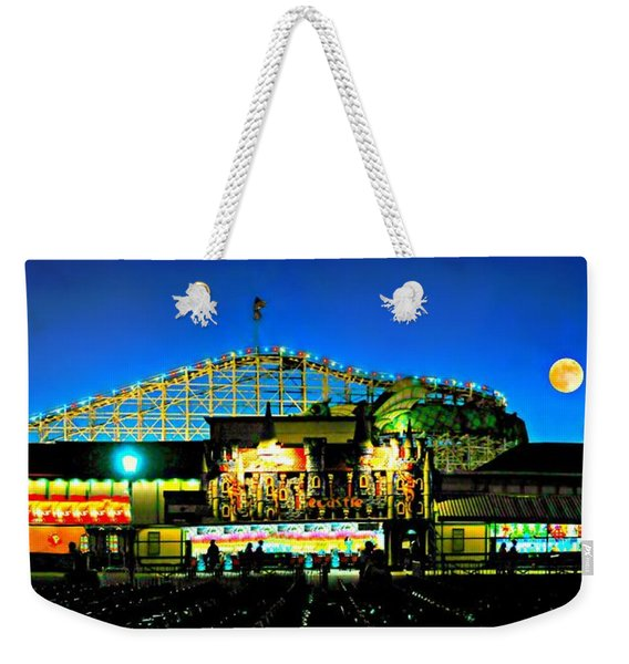 Historic Playland Amusement Park Weekender Tote Bag
