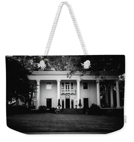 Historic Southern Home Weekender Tote Bag