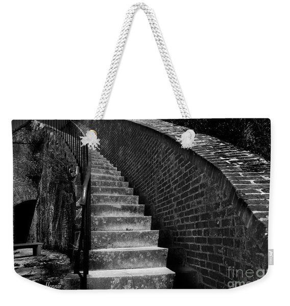Historic Stairwelll Weekender Tote Bag