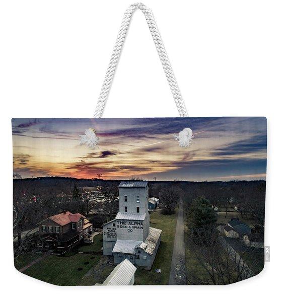 Historic Sunset Weekender Tote Bag