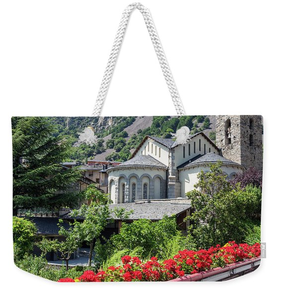 Historic Town Of Andorra La Vella Weekender Tote Bag