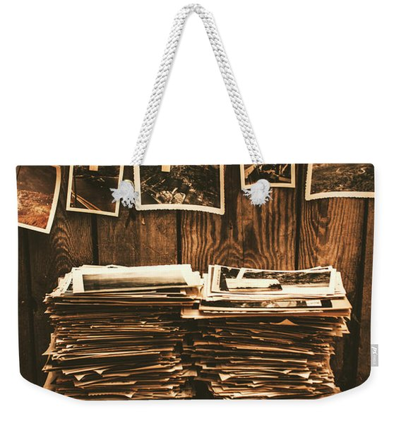 Historical Picture Archive Weekender Tote Bag