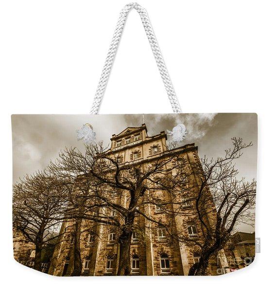 Historical Tasmanian Tourism Weekender Tote Bag