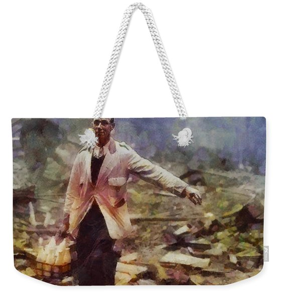 History In Color. Spirit Of The Blitz, Wwii Weekender Tote Bag