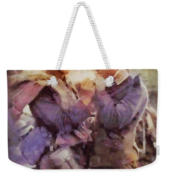 History In Color. Wwi Truce In The Trenches Weekender Tote Bag