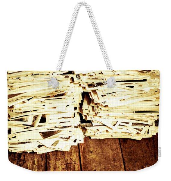 History In Photos Weekender Tote Bag