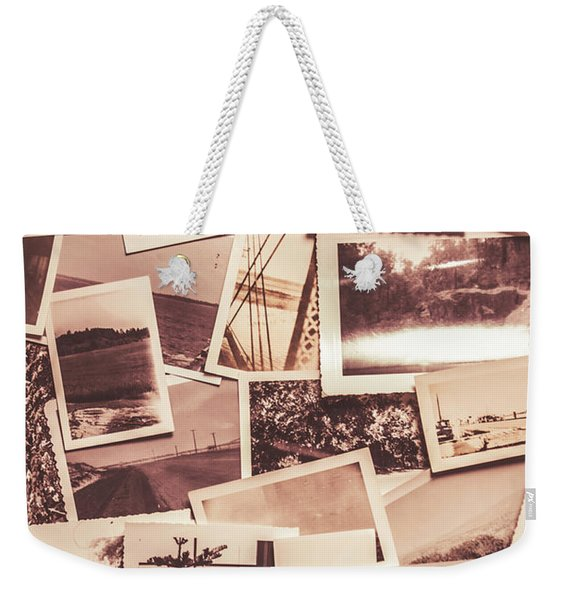 History In Still Photographs Weekender Tote Bag