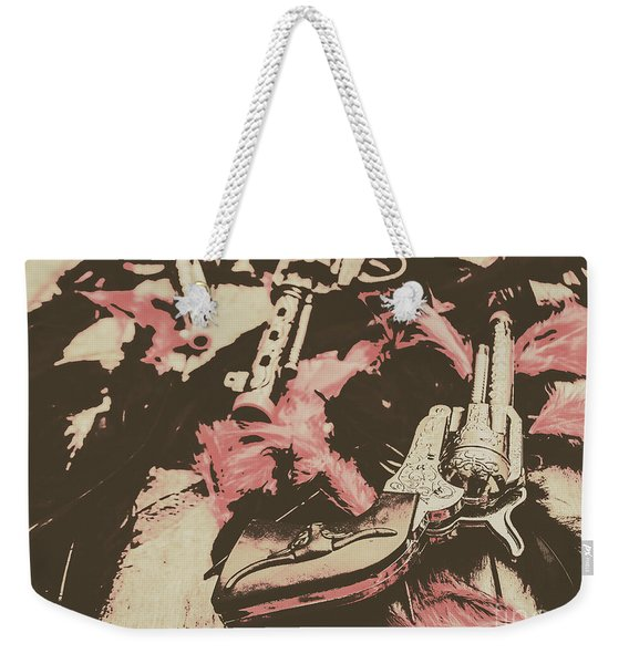 History In Western Rivalry Weekender Tote Bag