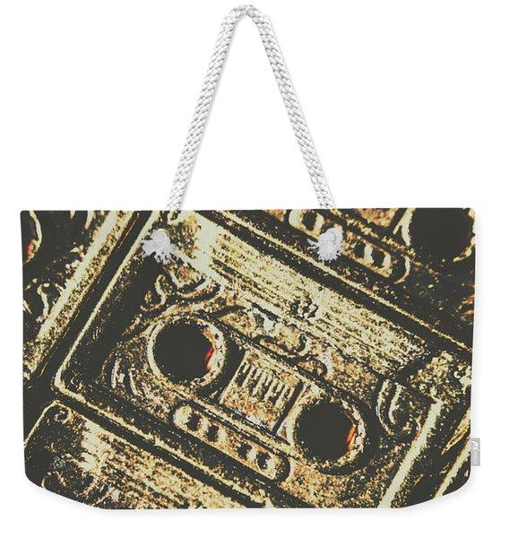 Hit Record Weekender Tote Bag