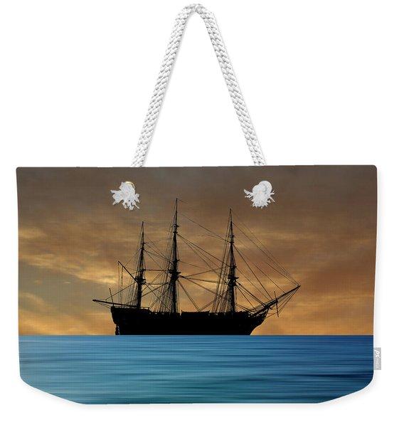 Hms Mars 1794  V2 Weekender Tote Bag