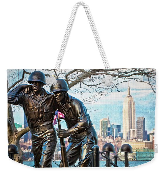 Hoboken War Memorial Weekender Tote Bag