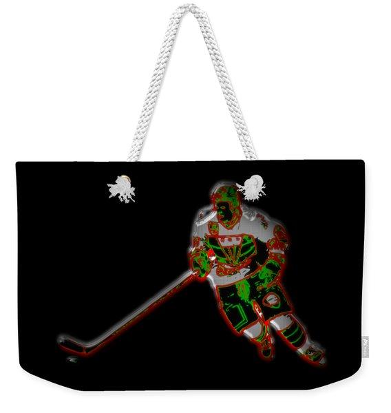 Hockey Player Weekender Tote Bag