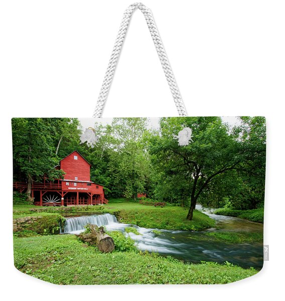 Hodgson Water Mill And Spring Weekender Tote Bag
