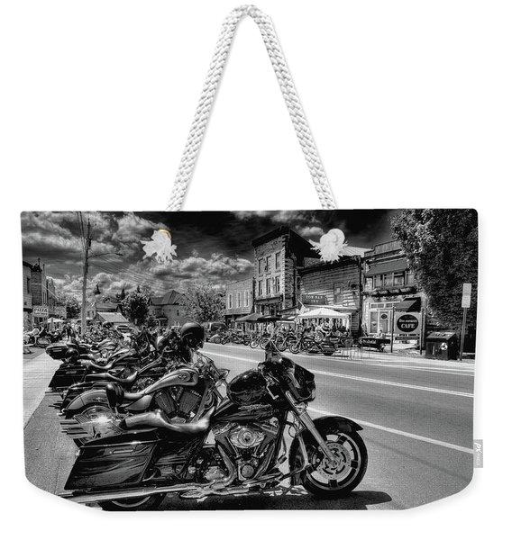 Hogs On Main Street Weekender Tote Bag