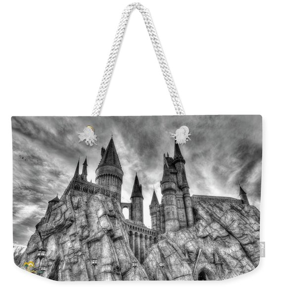 Weekender Tote Bag featuring the photograph Hogwarts Castle 1 by Jim Thompson