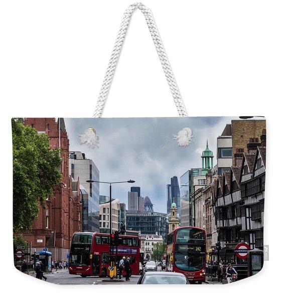 Holborn - London Weekender Tote Bag