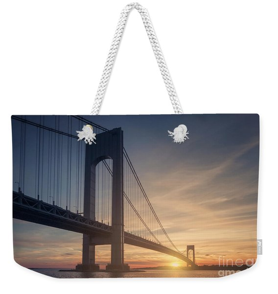 Hold Back The Night Weekender Tote Bag